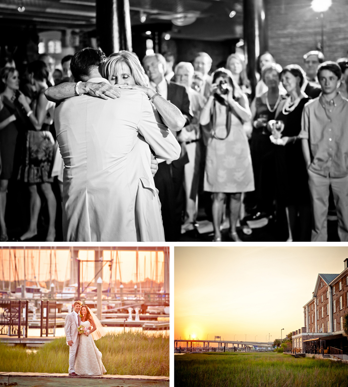 Mill point park hampton wedding